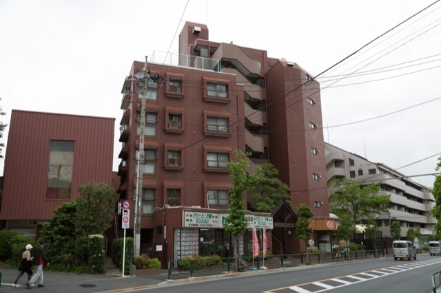 丸嶋キョウエイハイツ上井草の外観