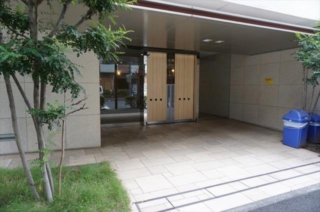 グランフォース横浜関内のエントランス