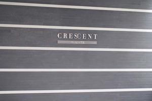 クレッセント町屋の看板