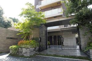 ザパークハウス文京護国寺のエントランス