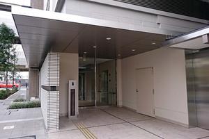 プラウドシティ蒲田のエントランス