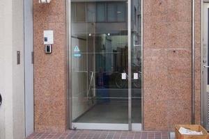 東京ビュック中銀のエントランス