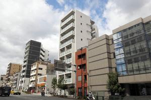 スカイコート文京新大塚の外観