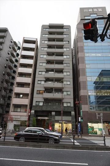 藤和シティスクエア三田(サウスウイング・ノースウイング)の外観