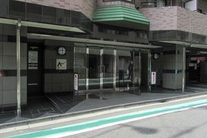 渋谷アムフラットのエントランス