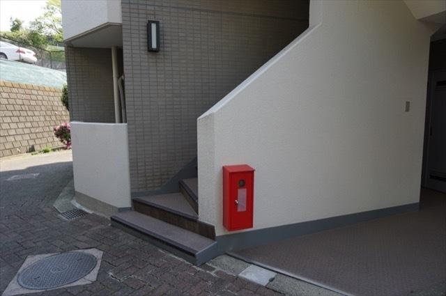 グランドムール横浜六ツ川のエントランス