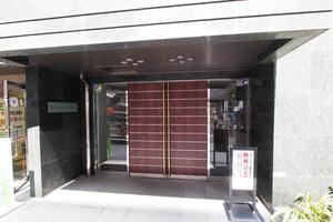 エクセレント文京動坂のエントランス
