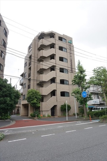 エンゼルハイム川崎田島2番館の外観