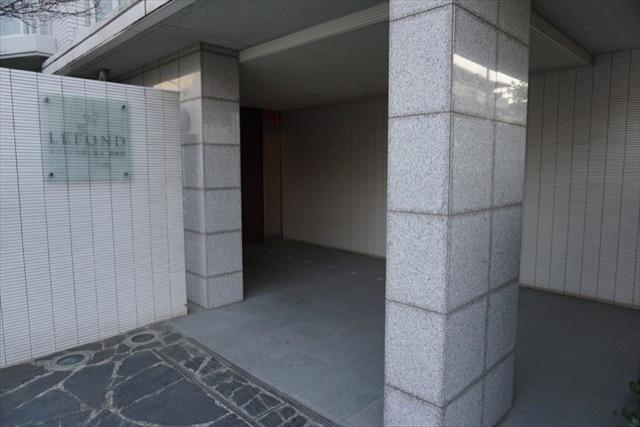ルフォン中野上鷺宮壱番館のエントランス