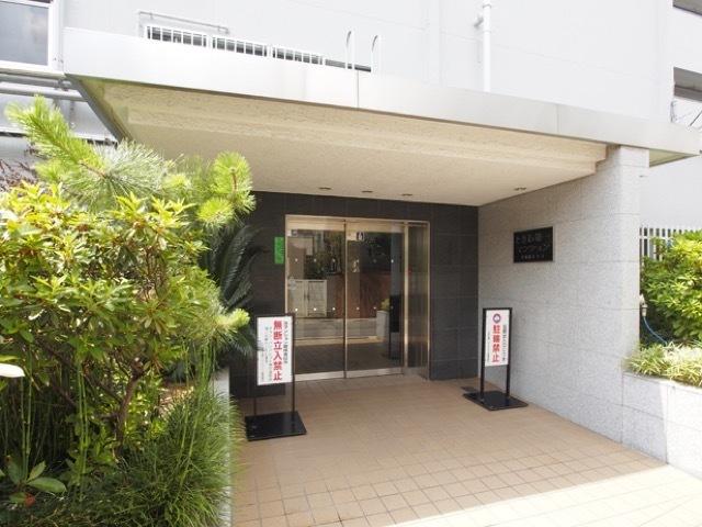 トキワ第1マンションのエントランス