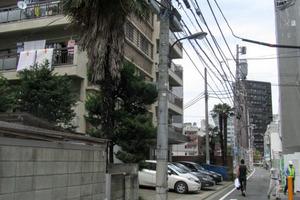 新宿マンションの外観