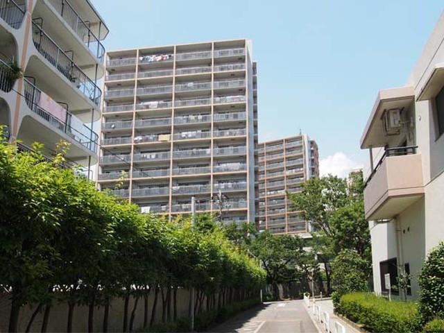 ダイナシティ東京リバーゲートの外観