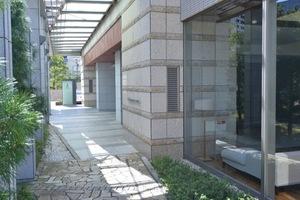 ルサンク大崎シティタワーのエントランス