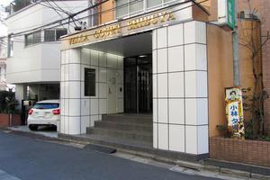 ベラコート渋谷のエントランス