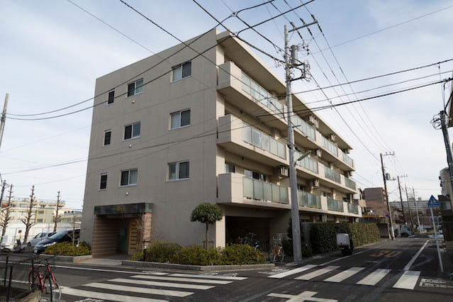 アイディーコート千歳船橋弐番館の外観