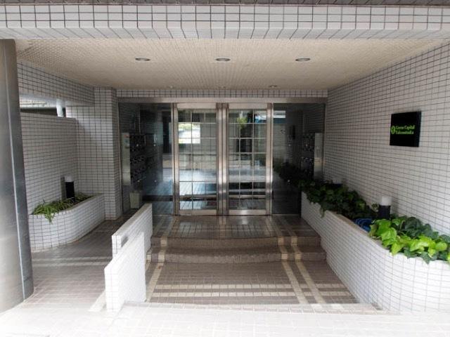 グリーンキャピタル竹ノ塚のエントランス