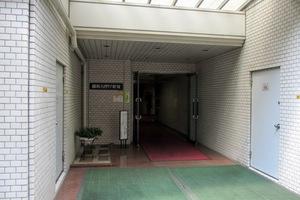 藤和ハイタウン新宿のエントランス
