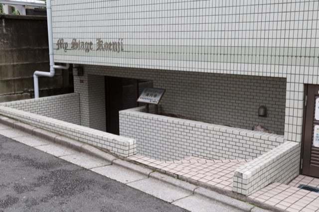 マイステージ高円寺のエントランス