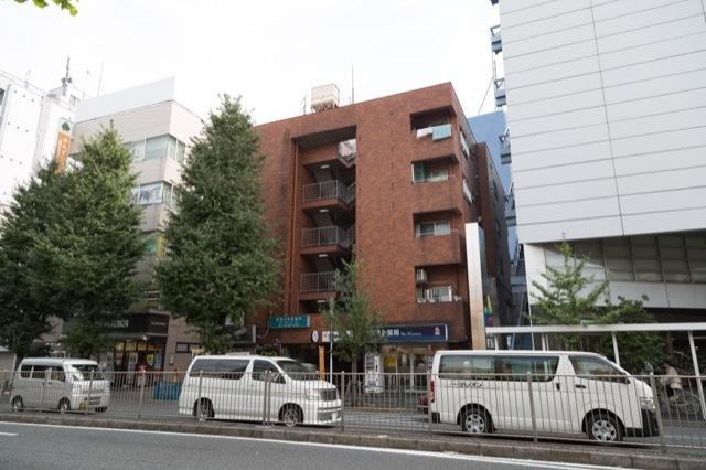 シャトー新高円寺の外観