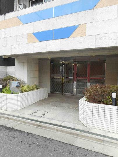 錦糸町アムフラット3のエントランス