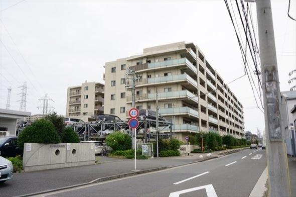 ジェイパーク横浜矢向フローラガーデンの外観