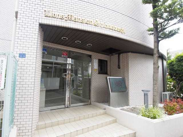 ライオンズマンション新板橋のエントランス