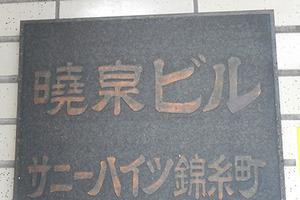 サニーハイツ錦糸町の看板