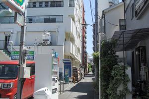 ウェスト早稲田マンションの外観