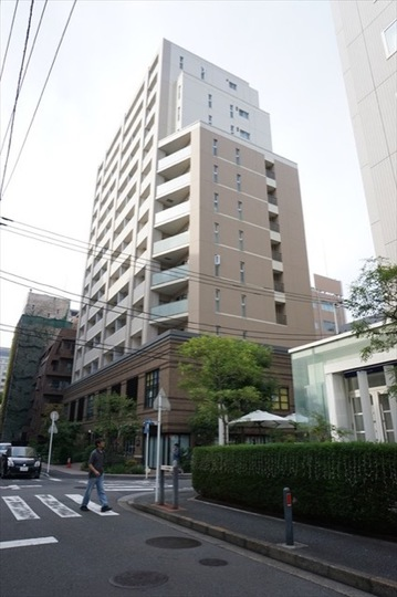 パークホームズ横濱山下公園の外観