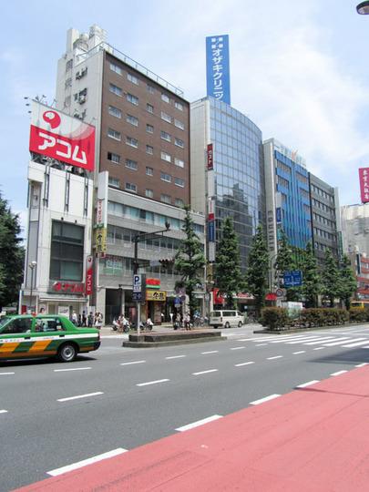 同栄新宿ビルの外観