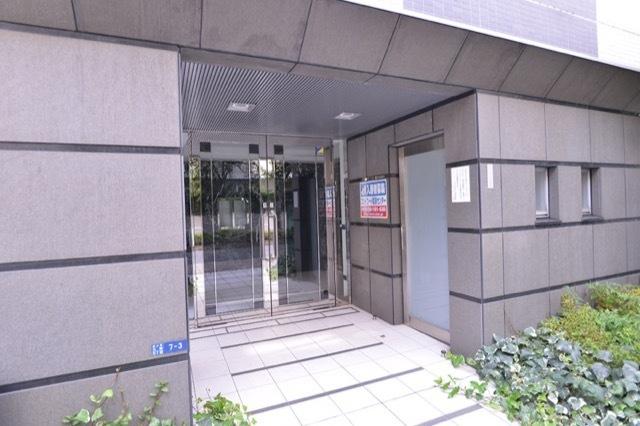 スカイコート品川大崎のエントランス