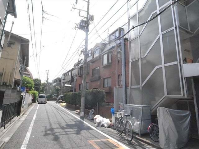 中野弥生エコーハイツの外観