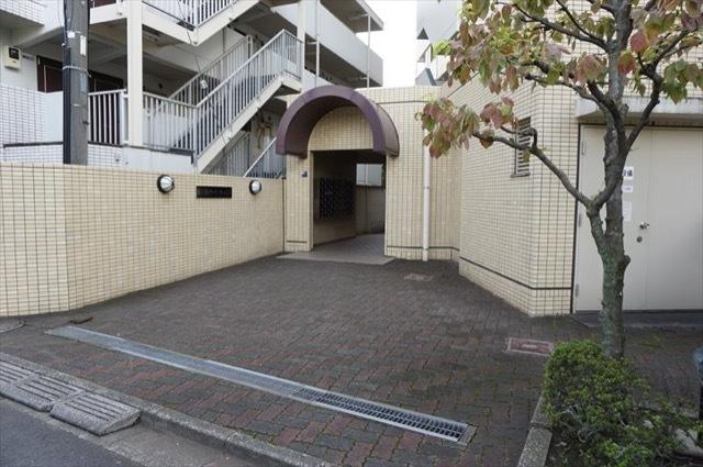 新川崎パークホームズのエントランス