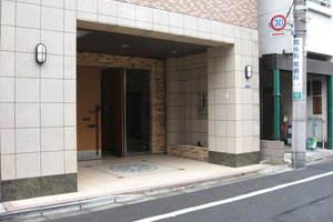 センチュリードメス西蒲田弐番館のエントランス
