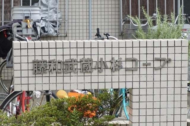 藤和武蔵小杉コープの看板