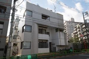 サンハイム柿ノ木坂の外観
