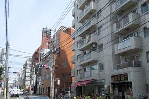 ルックハイツ北新宿1番館の外観