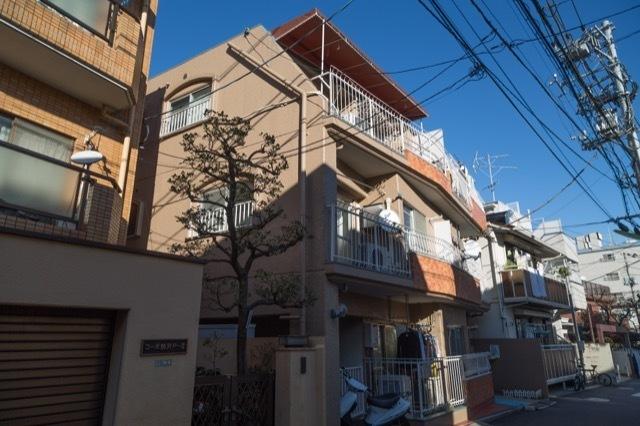 キャニオンマンション駒沢の外観