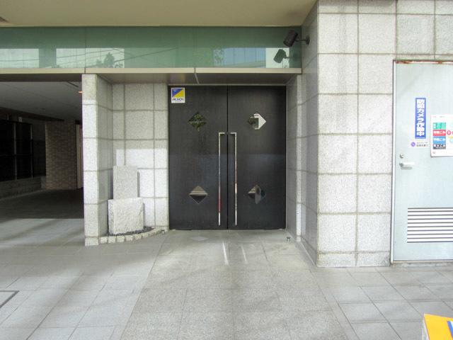ベルファース渋谷のエントランス