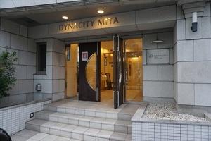 ダイナシティ三田のエントランス
