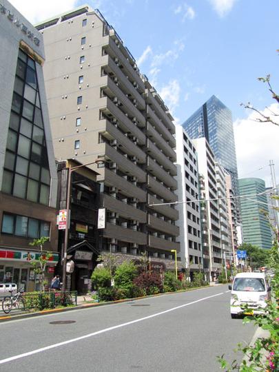 グランドガーラ西新宿ウエストの外観