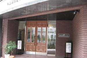 中銀東京日本橋マンシオンのエントランス