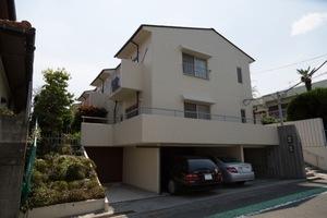 上野毛タウンホームの外観