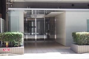 グランスイート東京のエントランス