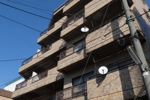 パレス駒沢の外観