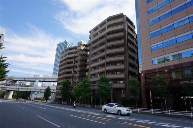 クレストフォルム横浜ポートサイドの外観