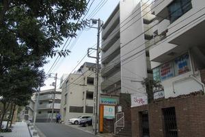 渋谷常磐松ハウスの外観