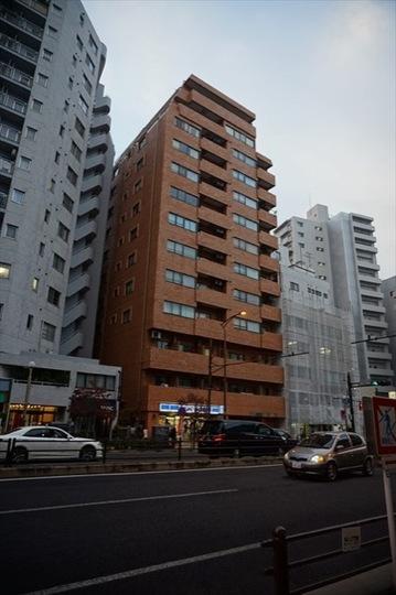 トーア三田ガーデンの外観
