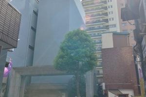 パークタワー東京クラルテステーションフロントの外観