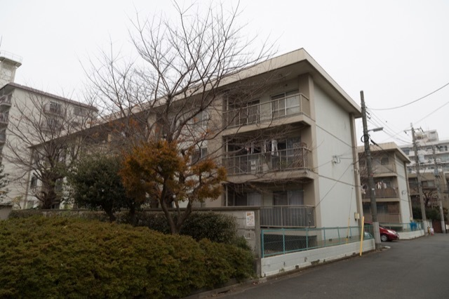 産業住宅協会三鷹第11アパート(A棟・B棟)の外観